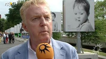 RTL Boulevard Andre van Duin opent expositie