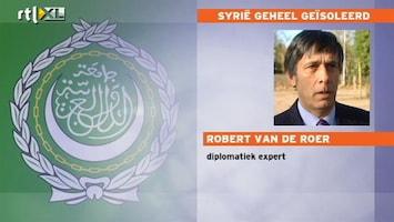 RTL Nieuws Syrie nu helemaal geïsoleerd