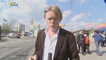 RTL Nieuws Jeroen Akkermans test ov in Kiev voor EK