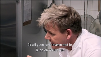 Gordon Ramsay: Oorlog In De Keuken! La Galleria 33 (part 2)