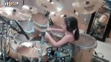 Editie NL Drumtalentje van 10 jaar