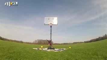 Editie NL 's Werelds hoogste basketball-jump