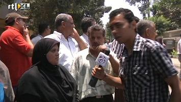 RTL Nieuws Agressie tegen nieuwe journalisten Egypte