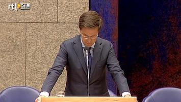RTL Nieuws Kamer in debat over val kabinet