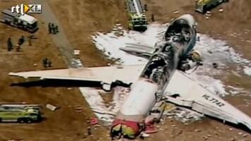 RTL Nieuws Boeing 777 stort bij landing neer in San Francisco