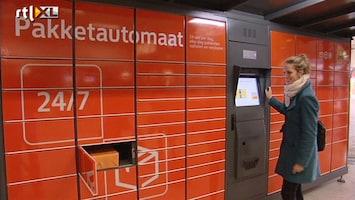 RTL Nieuws Pakketje PostNL dag en nacht op te halen