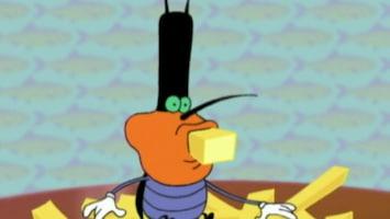 Oggy En De Kakkerlakken French fries