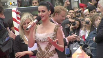 RTL Boulevard Europese premiere Katy Perry: Part Of Me
