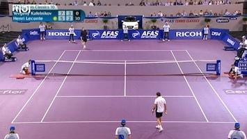 Afas Tennis Classics - Uitzending van 02-10-2010