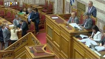 RTL Nieuws Grieks parlement stemt in met nieuwe belasting