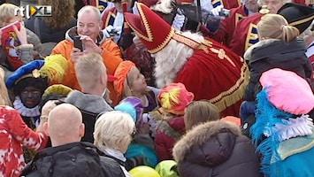RTL Nieuws Prinsesjes verwelkomen Sinterklaas