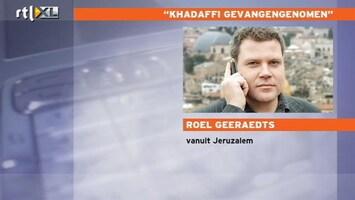 RTL Nieuws Roel Geeraedts: Khadaffi was op de vlucht
