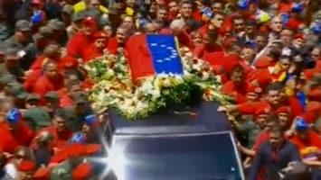 RTL Nieuws Venezuela rouwt om dode president Chavez