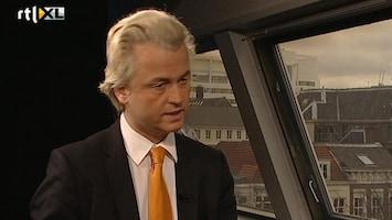 RTL Nieuws Wilders: 'Kans 50/50 dat kabinet overleeft'