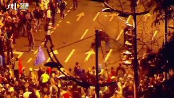 RTL Nieuws Rellen bij pro-Mladic-demonstratie