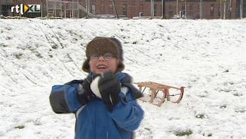 RTL Nieuws Sneeuw zorgt voor overlast en vertier