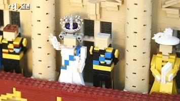 RTL Nieuws Kroonjuwelen voor Koningin in Legoland