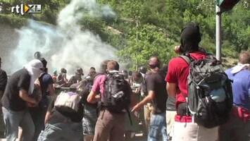 RTL Nieuws Protest Italie loopt uit op veldslag