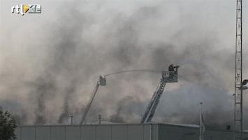 RTL Nieuws Brand bij afvalverwerker, stankoverlast