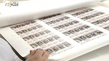 RTL Nieuws Grote hoeveelheid valse postzegels in omloop