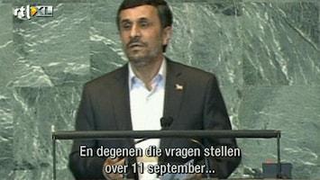 RTL Nieuws Iran laat VN-zaal weer leeglopen