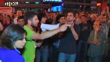 RTL Nieuws Protest tegen martelingen in Georgië