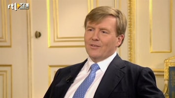 RTL Nieuws Wat Willem-Alexander over zijn mantel zei