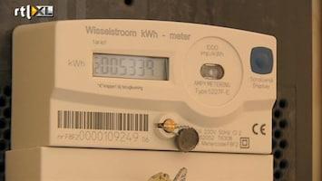 RTL Nieuws Forse daling in energiegebruik per huis