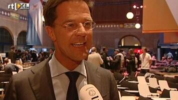 RTL Nieuws Rutte 'vergeet bloemetje' voor Beatrix
