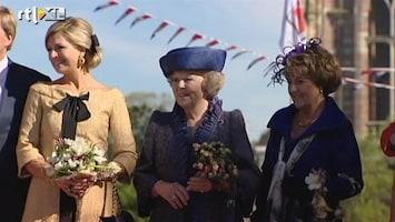 RTL Nieuws Koningin stort zich in feestgedruis