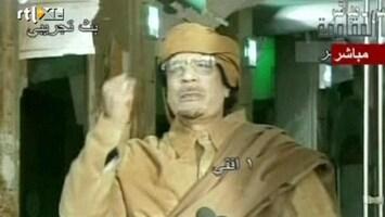 RTL Nieuws Rebellen weten niet waar Khadaffi is