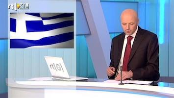 RTL Z Nieuws Afschrijven is onvermijdelijk voor Griekenland
