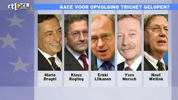 RTL Z Nieuws Een Italiaan en een Portugees aan het hoofd van de ECB?