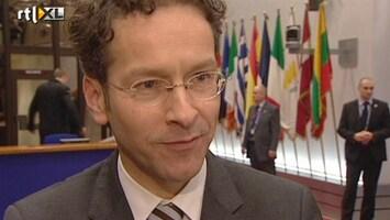 RTL Nieuws Dijsselbloem: Volle agenda, crisis nog niet voorbij