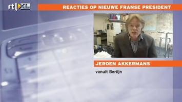 RTL Nieuws 'Merkel en Hollande tot samenwerken gedoemd'