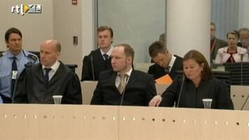RTL Nieuws Breivik erkent rechtbank niet