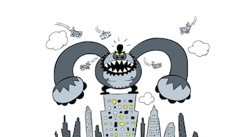Doodle King Kong