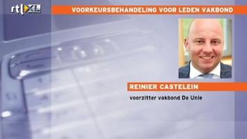 RTL Nieuws Vakbondsleden krijgen betere voorwaarden dan niet-leden