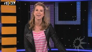 RTL Boulevard Ex-Powned Jojanneke oefent voor RTL Boulevard