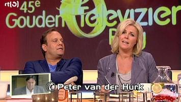 Carlo & Irene: Life 4 You Peter van der Hurk weet wie de Televizierring wint.