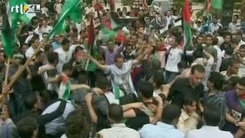 RTL Nieuws Palestijnen vieren feest na verzoening
