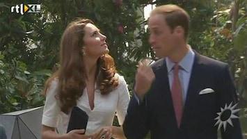 RTL Boulevard Prins William en Kate in Singapore