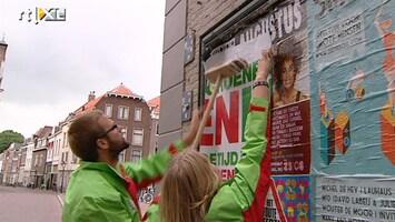 Editie NL Verkiezingsposter blijft plakken