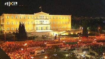 RTL Nieuws Felle tegenstand Griekse bezuinigingen