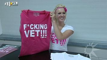 RTL Boulevard Britt krijgt eigen t-shirt-lijn