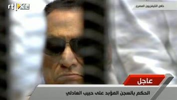 RTL Nieuws Ex-president Mubarak krijgt levenslang