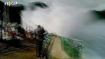 RTL Nieuws Gigantische golven treffen Chili