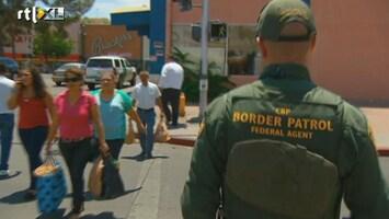 RTL Nieuws Kritiek op peperdure grensbewaking VS-Mexico
