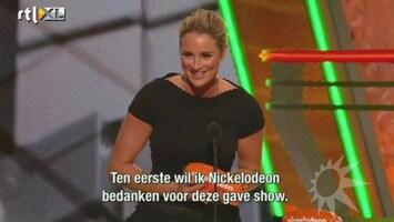 RTL Boulevard Lieke wint Kids' Choice Award