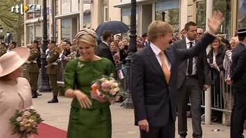 RTL Nieuws Luxemburg eerste bestemming koning Willem-Alexander